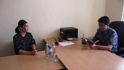 Samarqand viloyati IIB boshlig'ining o'rinbosari – Tergov boshqarmasi boshlig'i sayyor qabul o'tkazdi