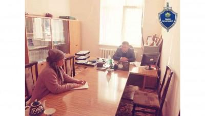 В Пскентском районе Ташкентской области начальником Следственного управления при ГУВД Ташкентской области был проведен выездной прием граждан.