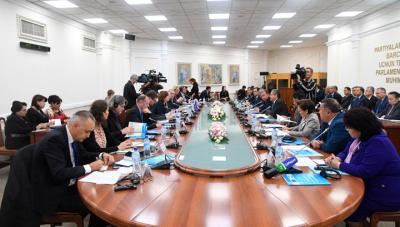 Заседание Комитета парламентского сотрудничества «Узбекистан-ЕС»