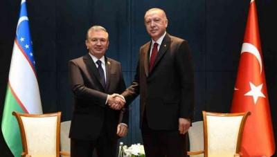 O'zbekiston va Turkiya Prezidentlarining uchrashuvi bo'lib o'tdi